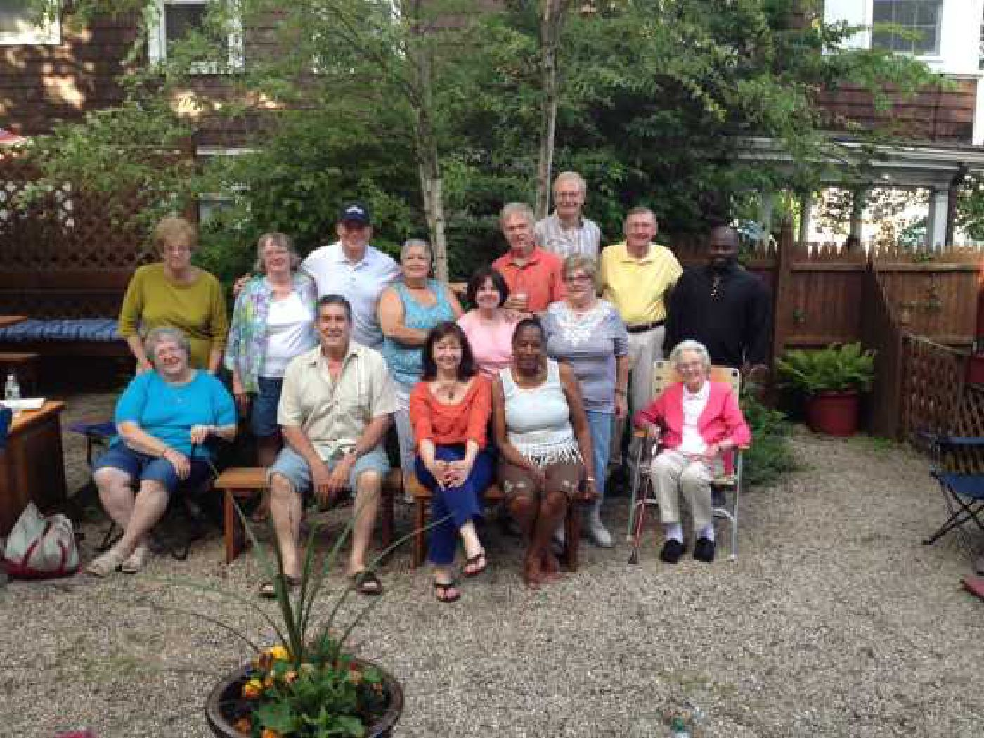Peabody Slope neighborhood barbecue 2014