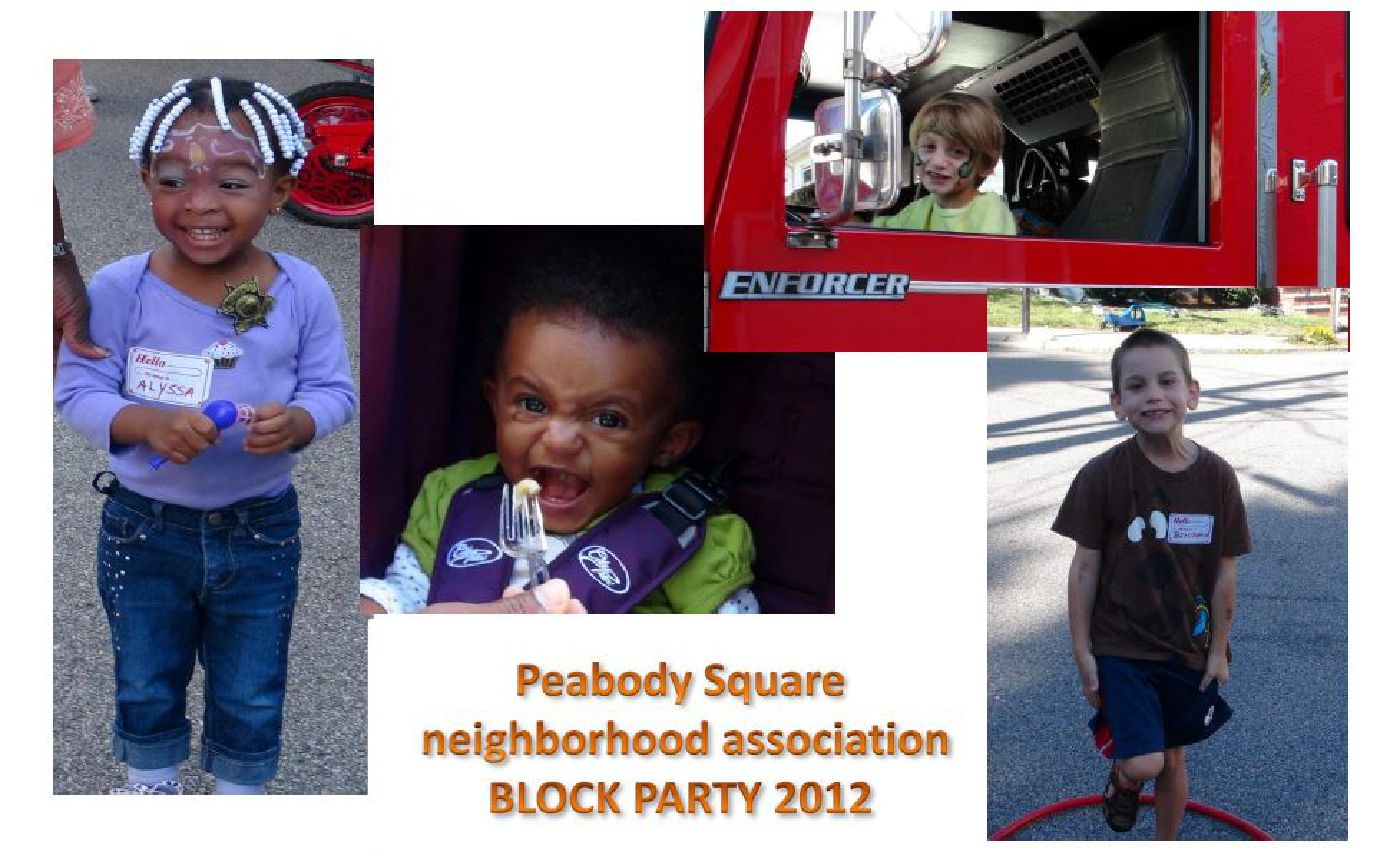Peabody Slope Neighborhood block party 2012