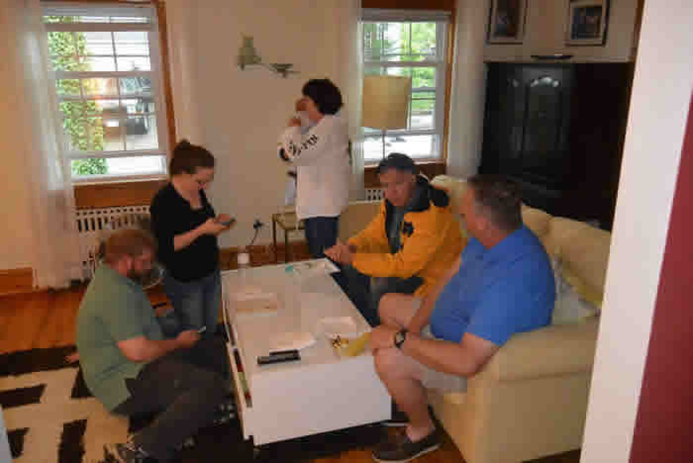 Peabody Slope neighborhood barbecue 2015