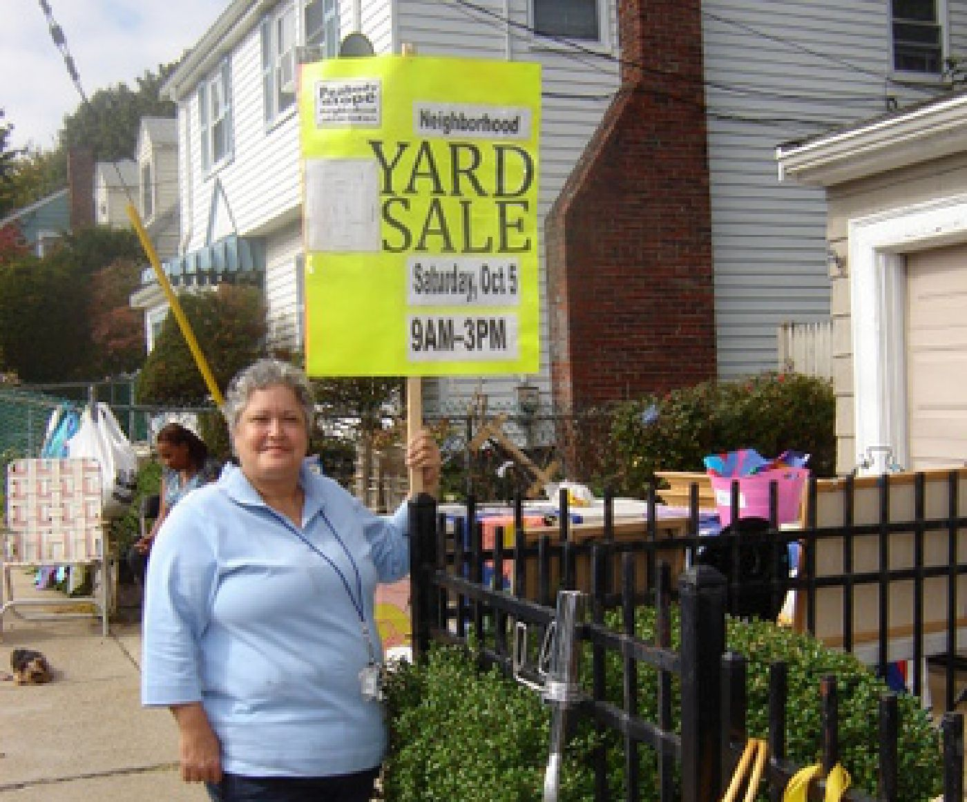 Peabody Slope Yard Sale 2013